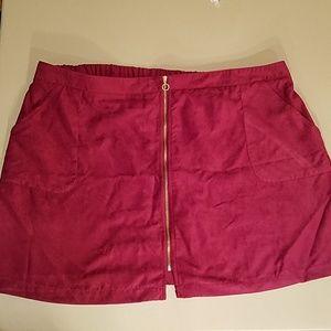 Maroon Skirt - Size 24